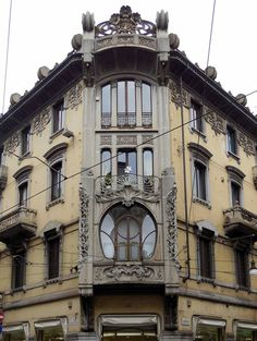 Via San Francesco D ' Assisi 17 b / via Antonio Bertola 20, Home Florio (Giuseppe Veiled Bellini 1902) · Rate t
