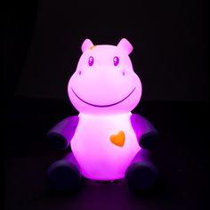 pabobo 'savanoo hippo' night light