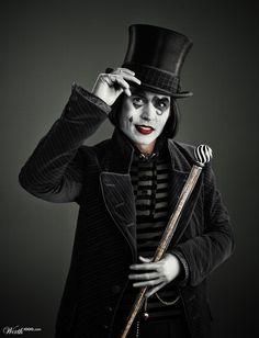 Johnny Depp Mimes