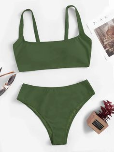2020 Women Swimsuits Bikini Best Plus Size Swimwear 2 Piece Swimsuits – beanral Bathing Suit Bottoms, Cute Bathing Suits, Sporty Bikini, Sporty Swimwear, Modest Bikini, Bikinis For Teens, Teen Bikinis, Bikinis For Sale, Cute Bikinis