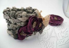 Green Press Blog: Kreatív újrahasznosítás - Mutatós kosarak, dekoratív ékszerek újságpapírból -   Recycle: basket out of old newspaper