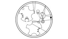 """it says """"Trust me, I'm the Doctor"""" in circular Gallifreyan. Circular Gallifreyan, Doctor Who Tattoos, Fancy Writing, Doctor In, Blue Box, Dr Who, Mad Men, Cute Quotes, Geek Stuff"""