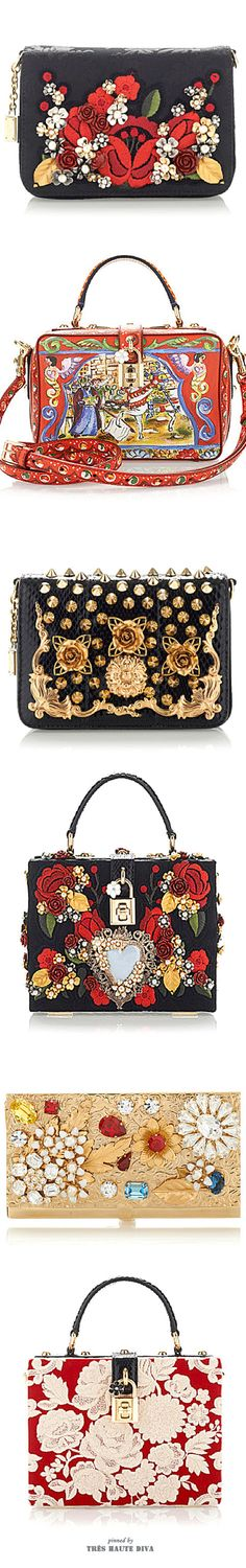 Not a fan of Dolce & Gabbana Spring Summer 2015 ♔ Tres Haute Diva Gucci, Fendi, Spring Summer 2015, Beautiful Bags, Purses And Handbags, Unique Handbags, My Bags, Evening Bags, Clutch Bag
