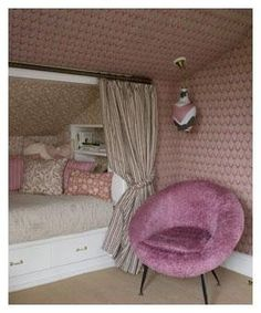 1000 Images About Ideas For Girls Attic Bedroom On