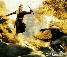 GIF: What i feel like doing when people walk slow infront of me - www.gifsec.com