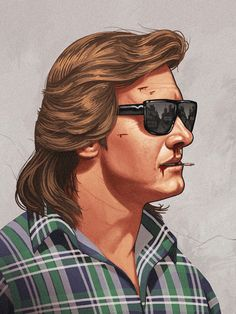 Mondo, the collectible art division of Alamo Drafthouse Cinema, announces its next gallery show featuring the artwork of Mike Mitchell which will run from Mike Mitchell, Cultura Pop, They Live Movie, Roddy Piper, Young Frankenstein, Pop Culture Art, Character Portraits, Geek Art, Classic Films