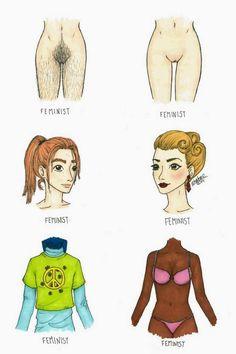 Não precisa andar igual a um homem para ser feminista. Feminista de verdade tem orgulho de ser mulher e ser linda!