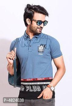 Polo T Shirts, Types Of Fashion Styles, Tshirt Colors, Printed Cotton, Trendy Fashion, Motorcycles, Creativity, Polo Ralph Lauren, Menswear