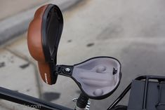 This bicycle seat was shipped on the first batch of Pedego electric bicycles to China.