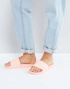 f55f59ec9022 adidas Originals Haze Coral Adilette Slider Sandals