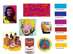 groovy color palette - Google Search