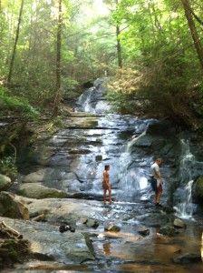 Fall Branch Falls In Blue Ridge GA