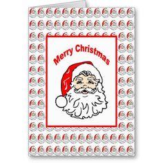 Custom Christmas Santa Card