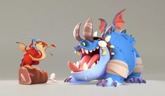ArtStation - Dragon 3D Art, Smita Kumari