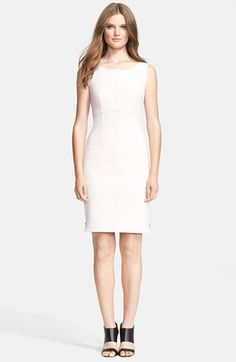 Milly Zip Crepe Sheath Dress available at #Nordstrom