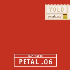 YOLO Colorhouse PETAL .06:  This is a great color as an accent in kids' rooms, in a stripe, a playroom or any place where you want a lot of energy. $35.95