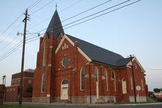 church | photo of St. Joseph's AME Church in Durham, NC