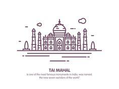 tai mahal by Rwds #Design Popular #Dribbble #shots