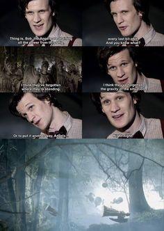 Season 5 | doctor who #angels #gravity