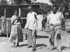 Snake Holders, Trinidad.