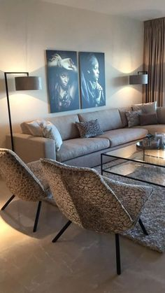 Gorgeous Lighting Ideas in the Living Room You Have To S French Living Rooms, Living Room Modern, Home Living Room, Apartment Living, Living Room Decor, Living Spaces, Living Room Inspiration, Home Decor Inspiration, Interior Design Living Room
