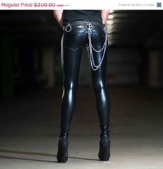 Annual+Sale+20+Off+Leather+Leggings+w.+Jeans+by+LenaQuistDesign,+$160.00