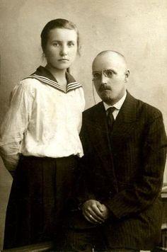 КОСОЛАЙНЕН (КААСОЛАЙНЕН) Михаил (Микко) Андреевич, род. 10.08.1884 г., с женой Павлинойа Ивановной.