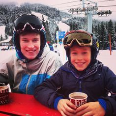 Warming up on the slopes with BeaverTails hot chocolate! Instagram photo by @Alistair Ogden (Alistair Ogden)