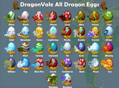 DragonVale Breeding Chart | DragonVale Cheats Fast Making Money And Breeding Guide For Android
