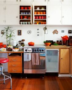 Color Crazy: Ten Vibrant Kitchens to Shake Up Your Style