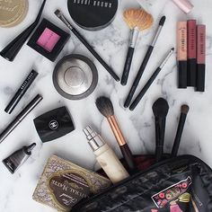 Coming up on the blog: what's in my makeup bag