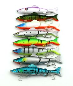 Jointed lures 12.5CM 18G hooks Fishing lures Minnow plastic isca artificial hard bait jerk fish tackle wobbler