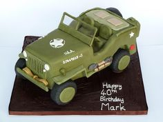 Willys Jeep Cake more at Recipins.com