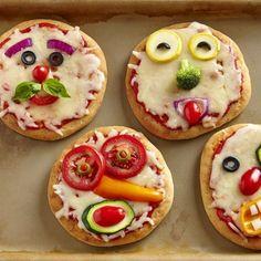 #Ideas #DIY para organizar el #cumpleaños de tu hijo - mini #pizzas