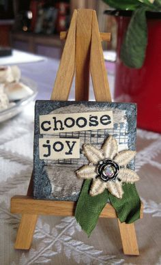 Inspriational 2x2 slate table top art/ magnet by TheRubySlippersCo on Etsy