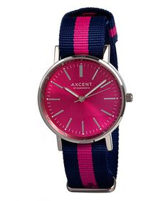 Axcent of Scandinavia Hot Pink Vintage Watch