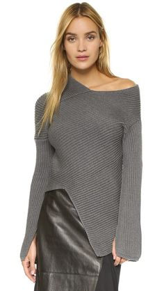 Joseph Asymmetrical Sweater