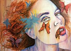 """Valentina De Chirico; Acrylic, Painting """"Butterfly Effect"""""""
