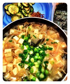 MD cooks for two: Beansprout soup 콩나물국
