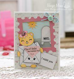 Peachy Keen Stamps February Release Sneak Peeks Day #1