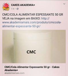CMC/COLA ALIMENTAR ESPESSANTE 50 GR VEJA na imagem em BAIXO: http://www.akademiamais.com/produto/cmccola-alimentar-espessante-50-gr/