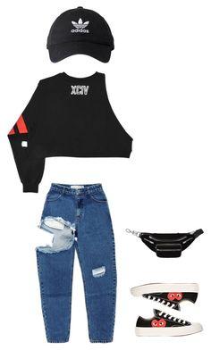 schwarz Krokodil Baumwolle Adidas Originals x Alexander Wang