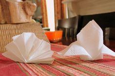 Pliage serviette papier : idées faciles et modèles