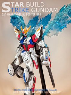 GUNDAM GUY: MG 1/100 Star Build Strike Gundam - Customized Build