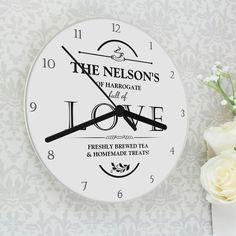 Full of Love Clock