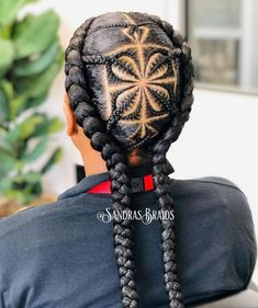Cornrow Hairstyles For Men, Black Girl Braided Hairstyles, Hairstyles With Bangs, Girl Hairstyles, Loose Braid Hairstyles, Braids For Boys, Braids For Black Hair, Small Braids, Curly Hair Styles