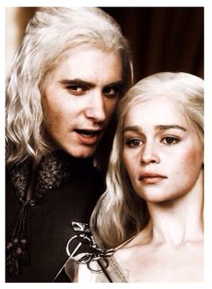 Viserys and Daenerys Targaryen ~ Game of Thrones