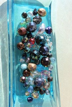 '40 Fire Polished Glass Beads Grab Bag' is going up for auction at  9am Sun, Oct 7 with a starting bid of $5.