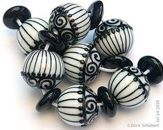 dora schubert lampwork beads - Google Search