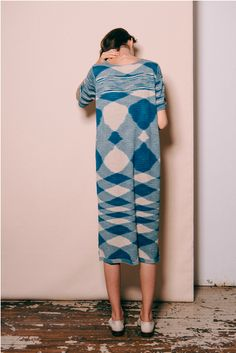 maryamnassirzadehshowroom:Lauren Manoogian Space Tall T Dress at No. 6 Store